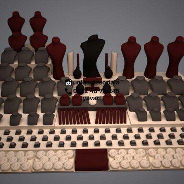 طراحی 3D ویترین دکور