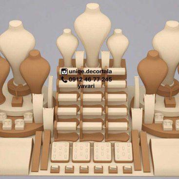 طراحی ویترین طلافروشی تهران