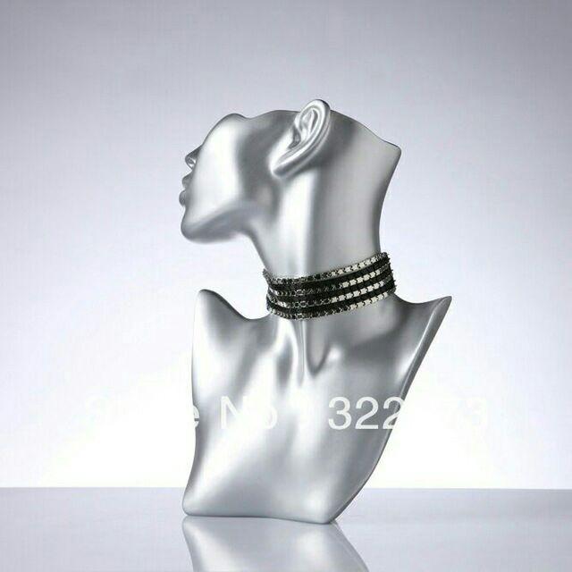 Mannequin jewellry decorasion