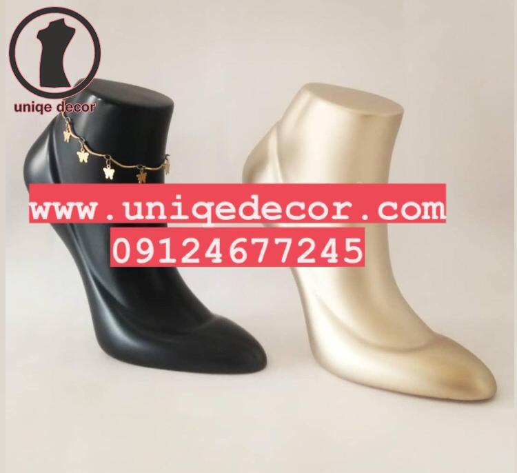 مانکن تندیس پا مدل کفش سیندرلا