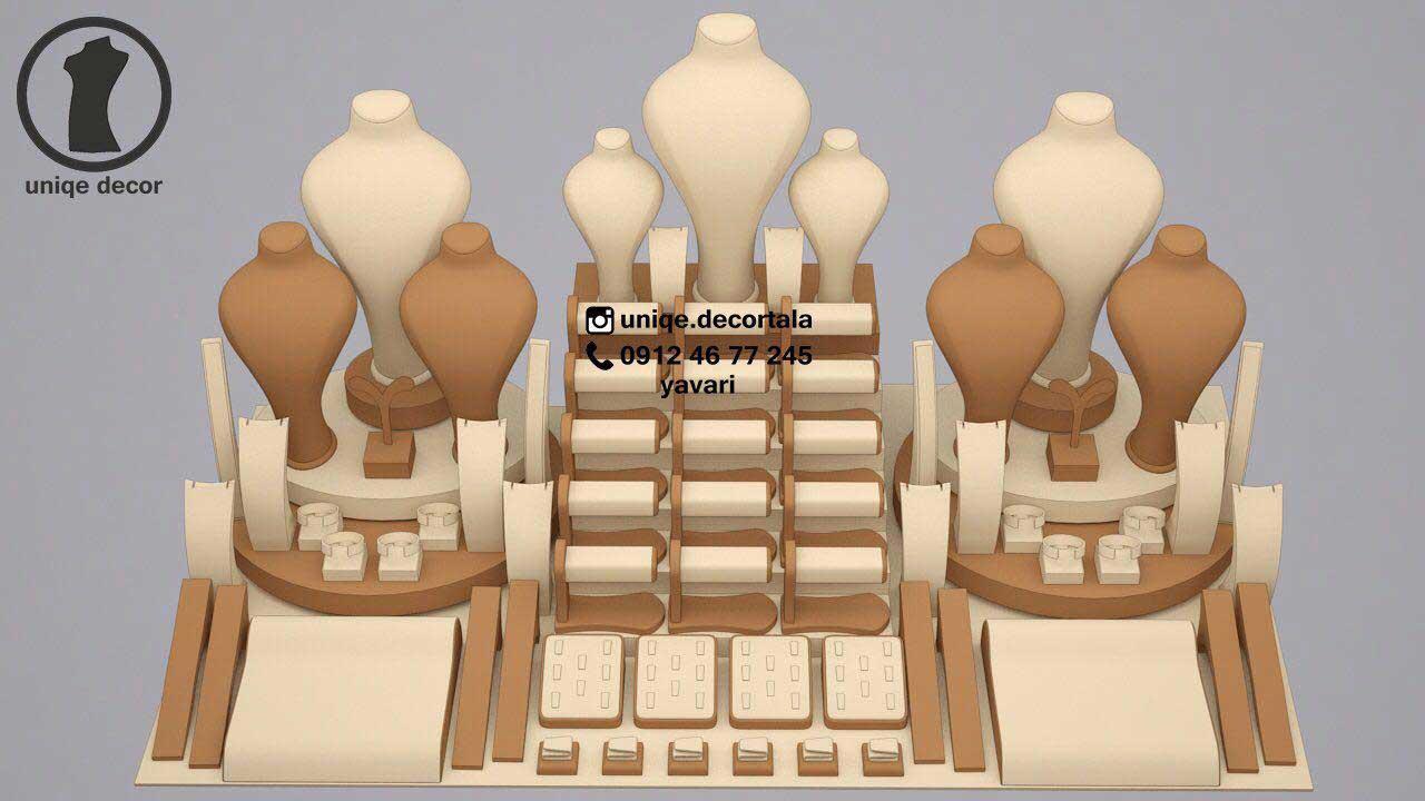 طراحی ویترین نقره فروشی تهران