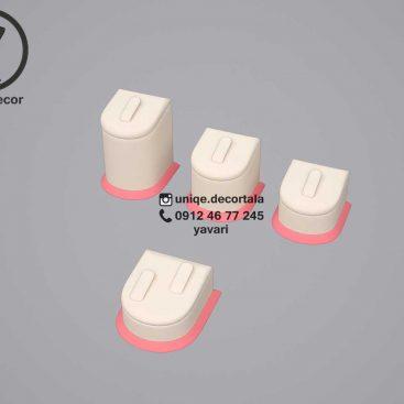 مانکن پایه انگشتر تکی مدل جلو گرد 3سایز