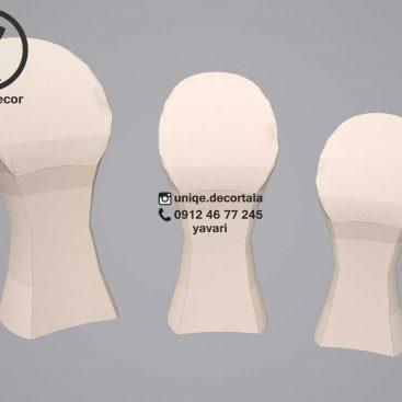 استند طلافروشی اویز و مدالی مانکن گردنبند مدل پافیلی سارینا در 3سایز