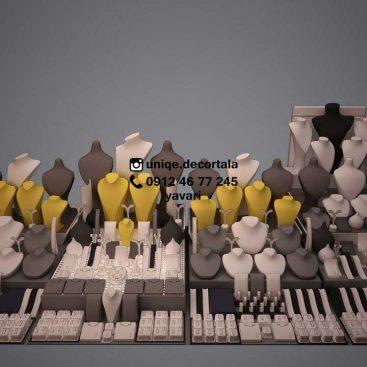 ویترین طلا و دکور آسانسوری جزیره طلافروشی ویترین طلا فروشی